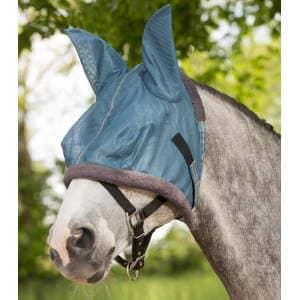 Fliegenmaske Protect in taubenblau