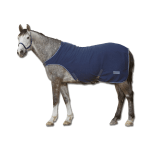 Fleece-Führmaschinendecke Economic in nachtblau
