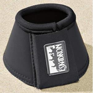 Hufglocken Kunstleder Allround standard in schwarz