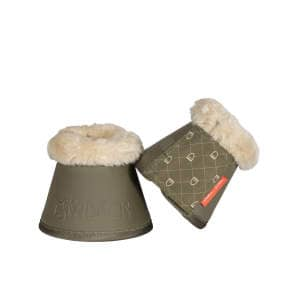 Hufglocken Platinum Faux Fur in martini-olive