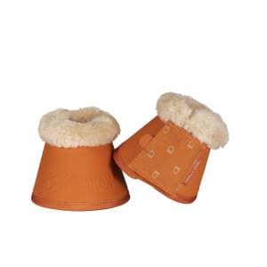 Hufglocken Faux Fur (Platinum 19) in vermillion-orange