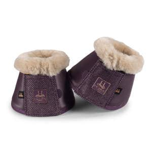 Hufglocken Softslate Fauxfur (Heritage 20/21) in deepberry