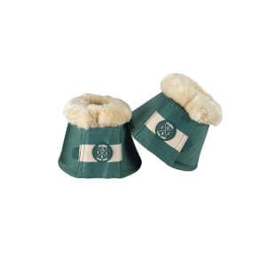Hufglocken FauxFur (Classic Sports FS19) in seapine green