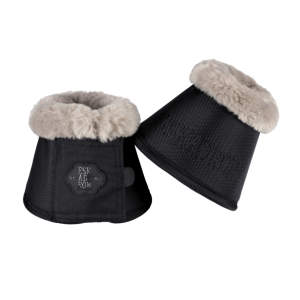 Hufglocken Faux Fur (Classic Sports HW19) in caviar