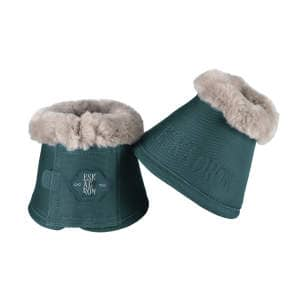 Hufglocken Faux Fur (Classic Sports HW19) in tealblue