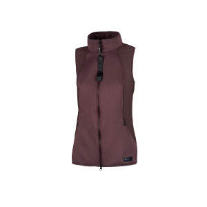 Weste Damen Lin in light aubergine