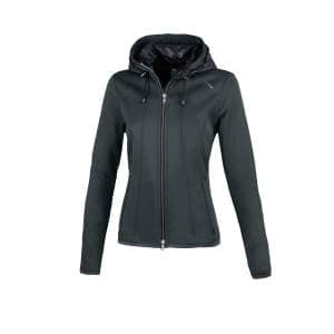 Fleecejacke Damen Janny in graphit melange
