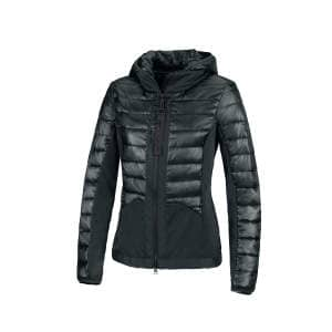 Hybrid-Steppjacke Damen Leyla in dark green