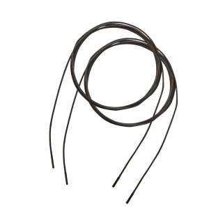 Schnürsenkel Laval in schwarz