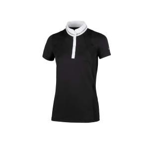 Turniershirt Damen Phiola in schwarz