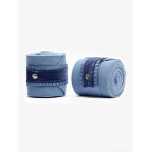 Bandagen Ruffle in Light Blue