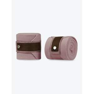 Bandagen Polos Brown Suede in Blush