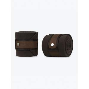 Bandagen Polos Brown Suede in Coffee