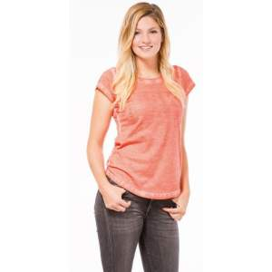 Damen T-Shirt Nala in coral