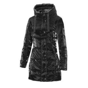 Mantel Damen Nabella  HW21 in schwarz velvet