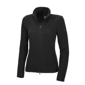 Fleece-/Softshelljacke Damen Anna  HW21 in schwarz