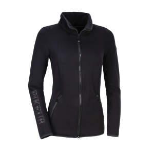 Fleece-/Softshelljacke Damen Niara  HW21 in schwarz
