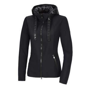 Fleece-/Softshelljacke Damen NeoMie  HW21 in schwarz
