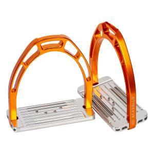 Steigbügel Arco Alupro in orange