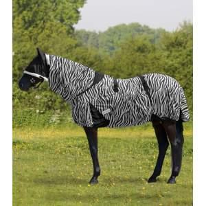 Ekzemdecke Zebra in schwarz/weiß