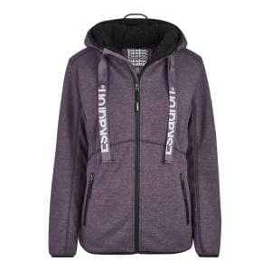 Jersey Zip-Hoodie Ruby Damen (Equestrian.Fanatics H/W 20) in deepberry