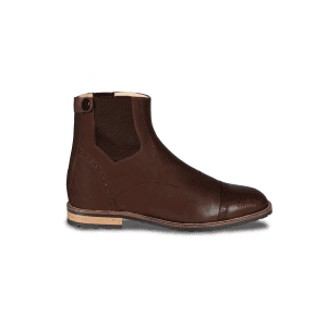 Stiefelette Brogue Pro in mocca