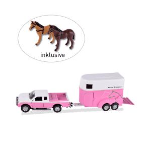 Spielset Pferdetransporter, pink