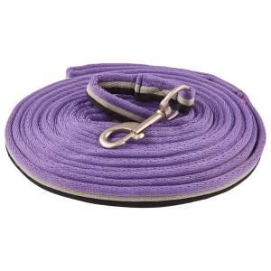 Longe line soft in royal purple