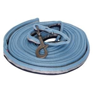 Longe line soft in blue-navy-silver