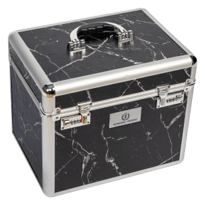 Putzbox Shiny in Marmor/schwarz