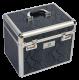 Thumbnail Taschen Putzboxen: Putzbox Shiny mit Schlangenmuster in night shadow 8714184784718 von Imperial Riding
