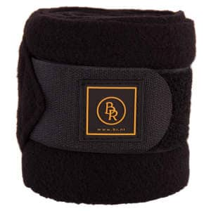 Bandagen Fleece Event in schwarz