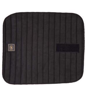 Bandagierunterlagen mit Klettverschluss in schwarz (4er Set)