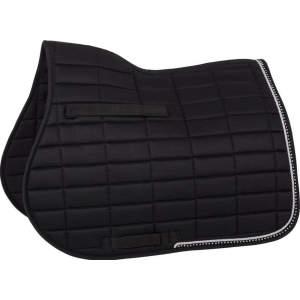 Schabracke Glamour Chic Dressur in schwarz, Größe: Full