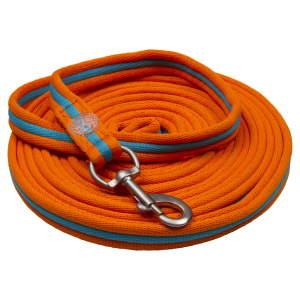 Longe Nylon in neon-orange