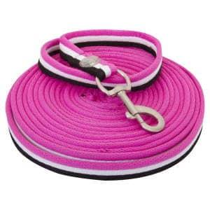 Longe Nylon in neon-pink