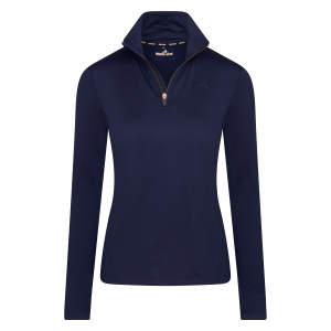 Pullover Damen half zip ESTyra in Navy