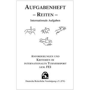Aufgabenheft - Reiten - Inhalt (Internat. Aufg.) in STANDARD.