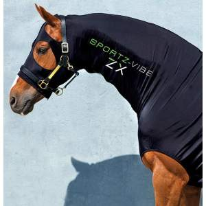 Sportz-vibe ZX Baselayer Horse in Black
