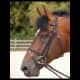 """Thumbnail Trensen: Trense """"classic"""" mit kombiniertem Reithalfter in Schwarz (WC) b164-black von Dyon"""