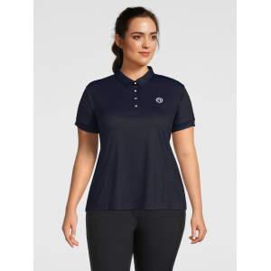 Poloshirt Damen Curvy Ella in navy