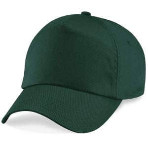 5-Panel Cap in Bottle Green