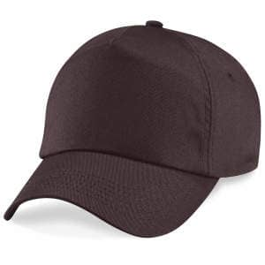 5-Panel Cap in Chocolate