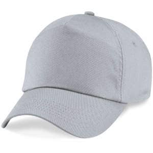 5-Panel Cap in Light Grey