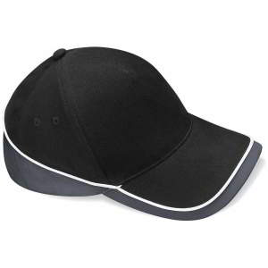 Mehrfarbige Team Cap in Black/Graphite Grey/White