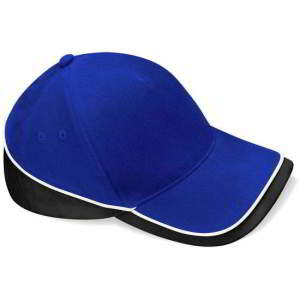 Mehrfarbige Team Cap in Bright Royal/Black/White