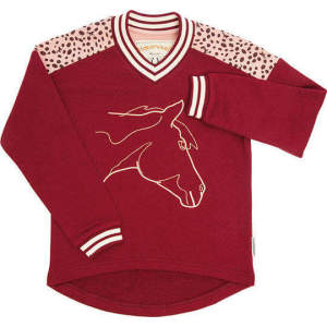 Kindershirt Sweatshirt in Wine