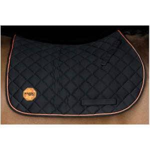 Horseware Ionic Schabracke VS in schwarz/orange