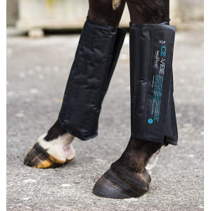 Kühlpacks Ice Vibe Boots in schwarz