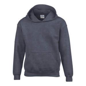 Kinder Heavy Blend™ Hooded Sweatshirt in Dark Heather